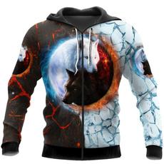 zip hoodie, 3D hoodies, Fashion, Zip
