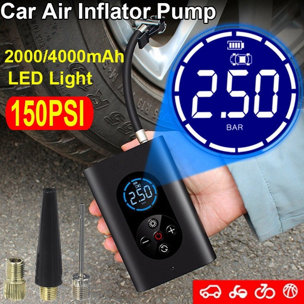 electrictyreinflator, Bicycle, Sports & Outdoors, Cars