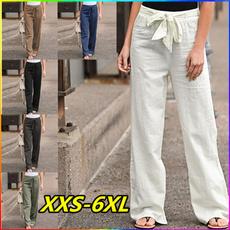summertrouser, cottonandlinenpant, trousers, Waist