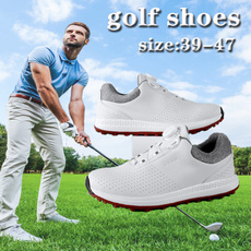 Outdoor, Golf, leathergolfshoe, Waterproof