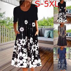 urban, long skirt, Plus Size, Necks