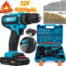 Batteries, Electric, hammerdrill, Tool