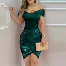 Mini, Fashion, Spring, Dress