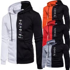 Casual Jackets, zippersweatshirt, Outdoor, Winter