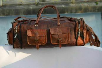 weekenderbag, handmadeduffelbag, duffelbagformen, leatherduffelbag
