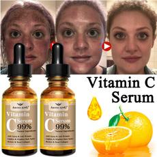 aging, acid, organic, spots