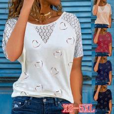 Plus Size, Fashion, Love, Shirt