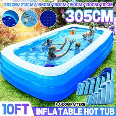 Summer, Outdoor, Garden, inflatableswimmingpool
