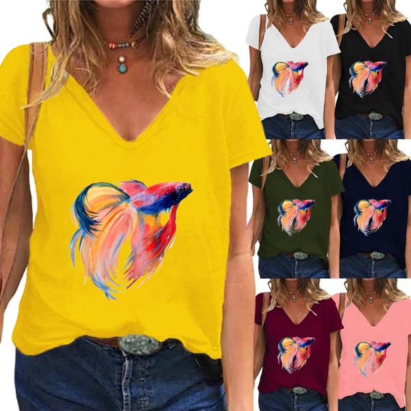 Summer, Plus Size, Women Blouse, blouse