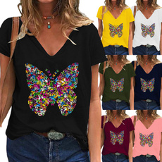 Summer, Fashion, Graphic T-Shirt, Printed Tee