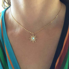 Personalized necklace, Fashion, Jewelry, gold