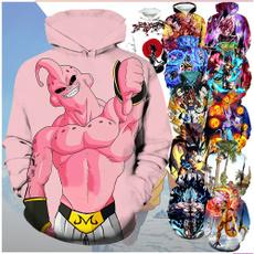 hoodiesformen, Casual Hoodie, dragonballzhoodie, Hoodies