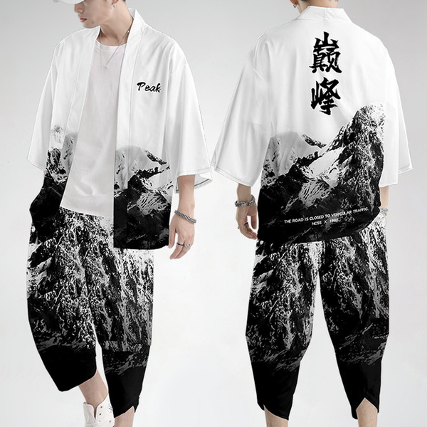 mencostume, yukata, Fashion, pants