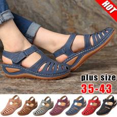 casual shoes, Summer, fashion women, Plus Size