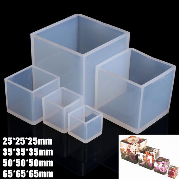 jewelrymakingtool, cube, cubemold, Silicone