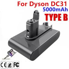 Battery, dysondc31animalbattery, Vacuum, dysondc35typebbattery