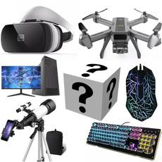 Headset, Computers, Telescope, Keyboards