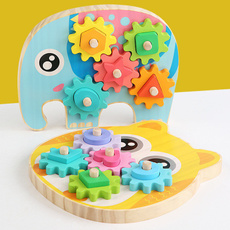 geartoy, Toy, montessoritoy, Wooden