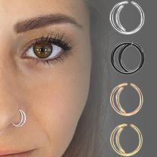 Jewelry, Stainless Steel, piercing, Moon