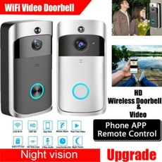 wirelessvideodoorbell, Door, Bell, Photography
