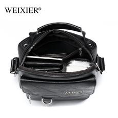 Shoulder Bags, Fashion, business bag, genuine leather