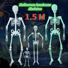 halloweenskeleton, fluorescentskeleton, Skeleton, skull