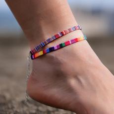Handmade, Anklets, Chain, beachanklet