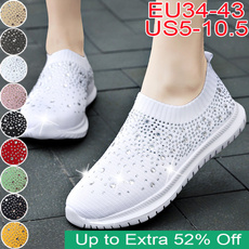 casual shoes, Sparkly, Sneakers, Plus Size