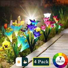 solarflowerlight, Outdoor, Garden, solarlightsoutdoor