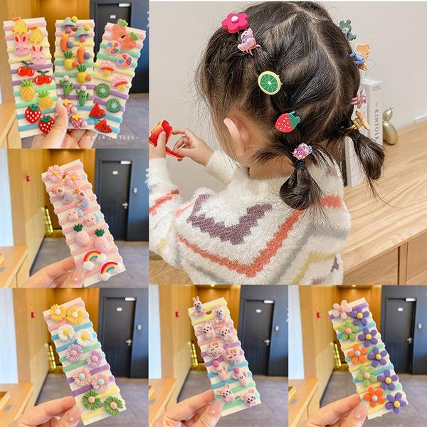 cute, Flowers, elasticityhairholder, Colorful