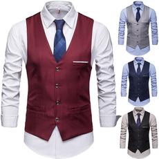Vest, slim, Classics, Dress