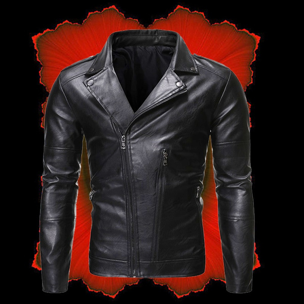 motorcyclejacket, Outdoor, PU Leather, leather