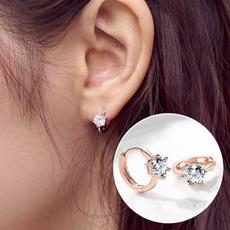 Sterling, party, Silver Earrings, DIAMOND