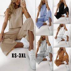 longtrouser, Cotton, trousers, crop top