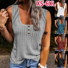 halter top, blouse, Plus Size, Tank
