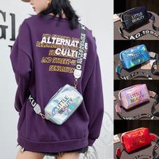 Shoulder Bags, Holographic, Laser, smallcrossbodybag
