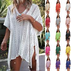 Summer, Fashion, sunscreenshirt, beachskirt