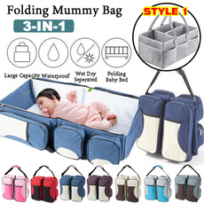 Baby, mummybag, Tote Bag, Beds