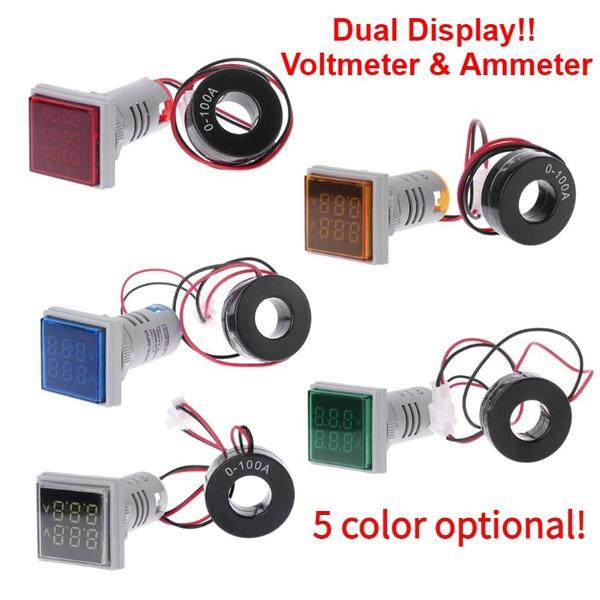 electricalcomponent, Mini, led, voltagemeter