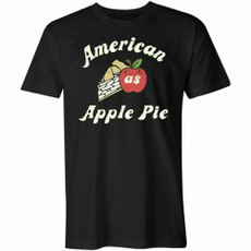 mensummertshirt, Funny T Shirt, Apple, Slim T-shirt