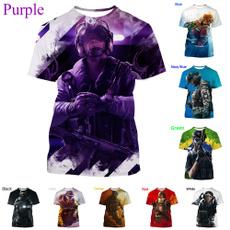 Funny, rainbow, Short Sleeve T-Shirt, Summer