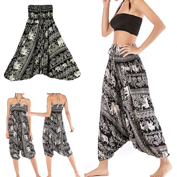 elasticwaistpant, Women Pants, longcrotchpant, Waist