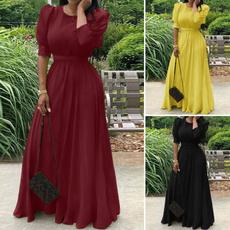 gowns, dressesforwomen, Waist, Elastic