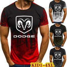 Dodge, Summer, Shorts, Cotton T Shirt