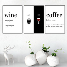 modernpaintingscanva, Decor, Kitchen, art