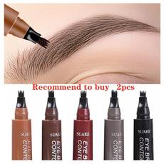 pencil, eye, brown, Eye Makeup