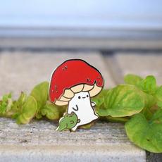 Kawaii, cute, Outdoor, Mushroom