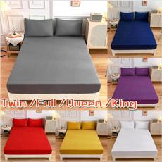 fittedsheetkingsize, King, mattresscoversset, Bed Sheets