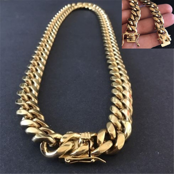 Steel, Chain Necklace, hip hop jewelry, Jewelry