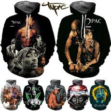 hoodiesformen, Fashion, Winter, tupac